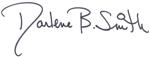 Dean Smith signature